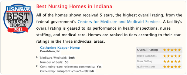 Best Nursing Homes in Indiana