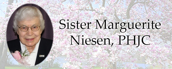 In Memory of Sister Marguerite Niesen, PHJC