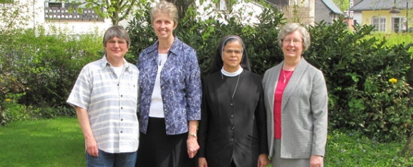 (Pictured from left to right) - Sr. Barbara, Sr. Annemarie, Sr. Gonzalo, and Sr. Shirley