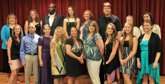 Ancilla College Honors Nursing Graduates at Pinning