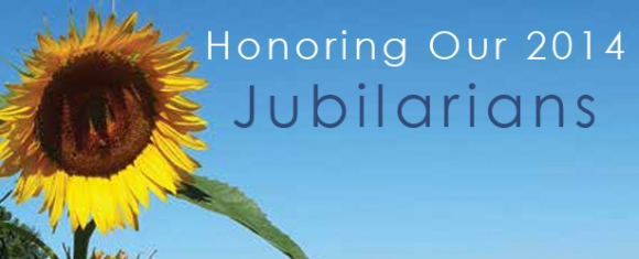 Honoring Our 2014 Jubilarians